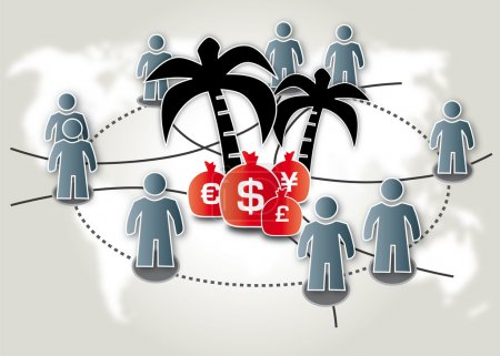 Tax haven, financial industry