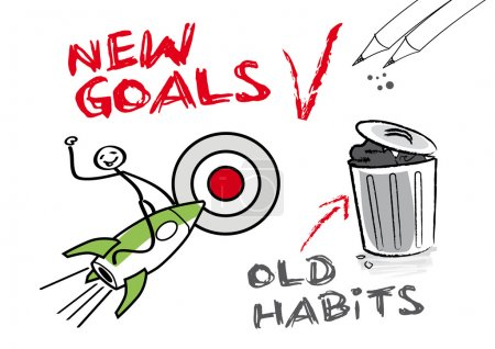 New goals, old habits