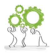 Cogwheel Teamwork
