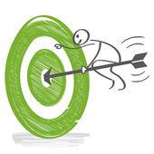Target achieve goals
