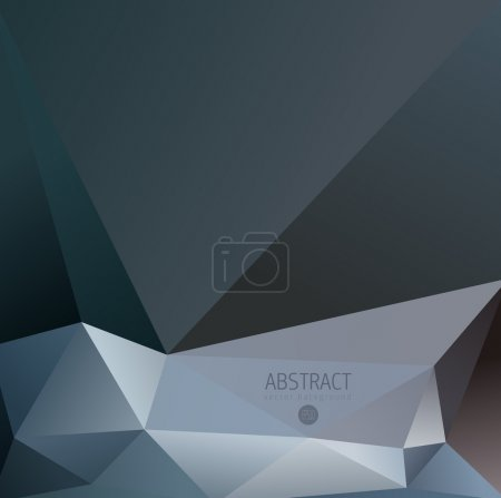 Abstract Fancy Diamond Shaped  Background