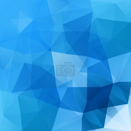 Illustration for Abstract vector moder background with triangle object. Template for design - Royalty Free Image