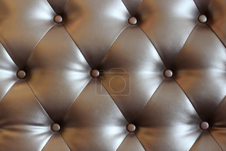 Brown velvet cushion