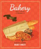 Bakery. Bread. Baton. Bun. French baguette. Croissant. Pretzel. Donuts.