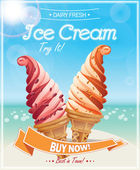 Ice Cream Poster.