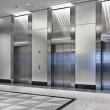 Elevators in the office building...