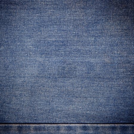 old blue jeans background and texture close up
