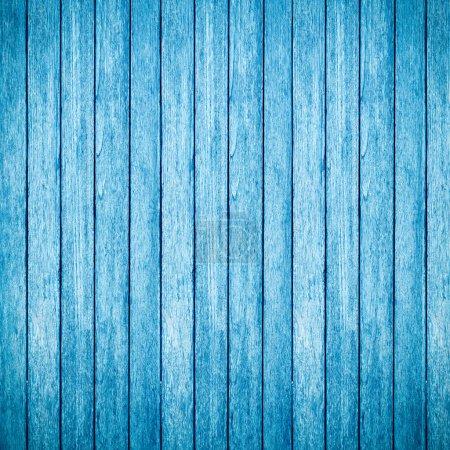 Foto de Fondo y textura de madera azul - Imagen libre de derechos