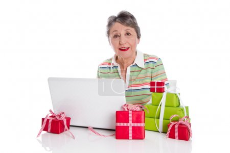 Grandmother ordered online gifts