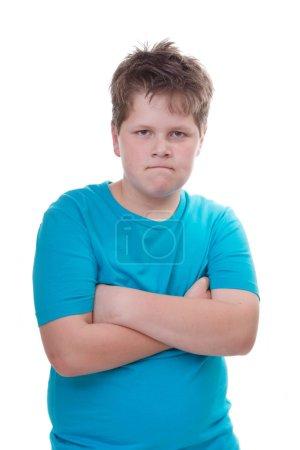 Defiant boy