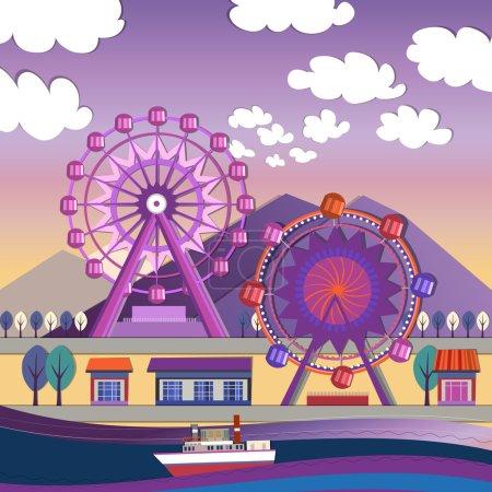 City amusement park