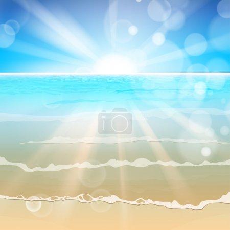 beautiful sea background