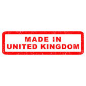 Stamp of Made in United kingdom