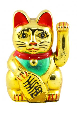Gold Maneki Neko Japan Lucky Cat