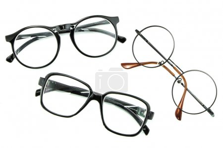 Photo for Optical vintage glasses isolated - Royalty Free Image