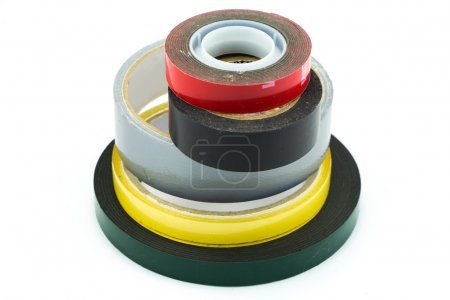 Masking tape, duct tape, double sided tape
