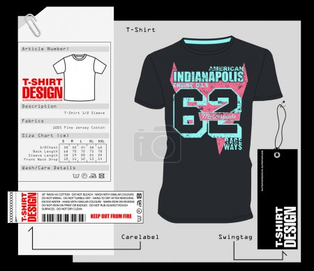 T-Shirt Design, Print Design