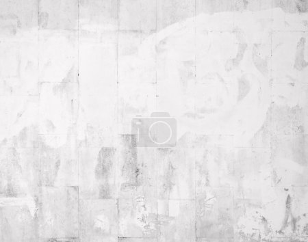 Closeup of white tile wall