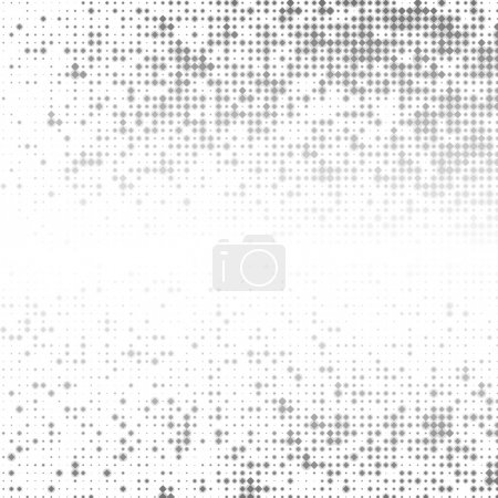 Photo for Grey abstract background with squares and space for text - Royalty Free Image
