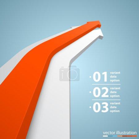 Vector arrows business growth