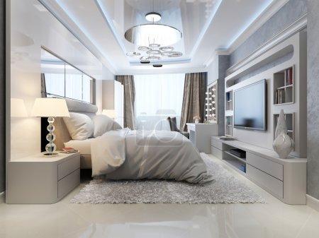 Photo pour Intérieur de chambre de luxe, image 3d - image libre de droit
