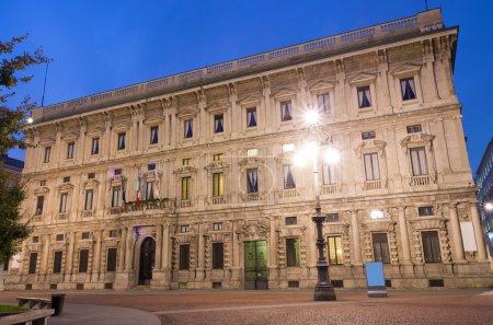 Photo for Town hall Palazzo Marino,seat of municipality of Milan - Royalty Free Image