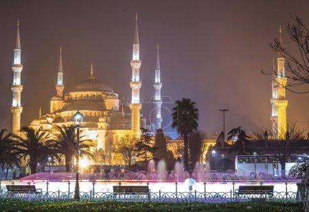Photo pour La Mosquée Bleue (Sultanahmet Camii), Istanbul - image libre de droit