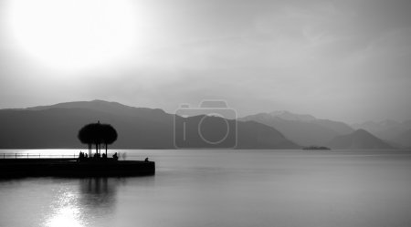 Photo for Minimalist artistic landscape - Royalty Free Image