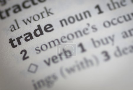 Trade meaning