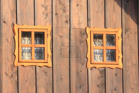 Mountain house windows