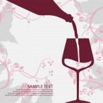 Cup, vine, card, wine, stem, cast, text, herb, menu, food, fluid, drink, grape, booze, plant, stalk, water, glass, leaves, winery, liquid, sample, bottle, goblet, liquor, potion,