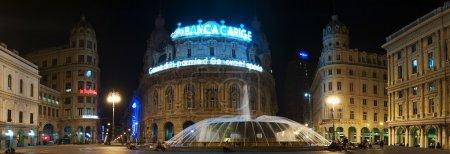De Ferrari square in Genoa
