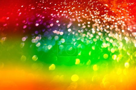 Colorful Blurred Abstract Background Photo