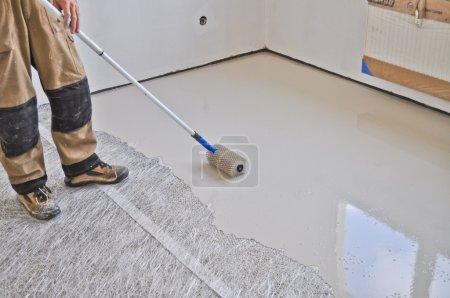 Leveling the floor leveled