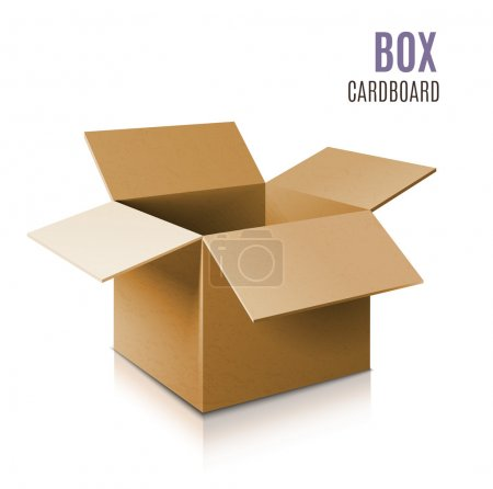 Ilustración de Icono de caja - Imagen libre de derechos