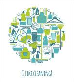 čištění pozadí