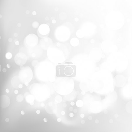 Shiny light background, Gray design. Vector illustration.