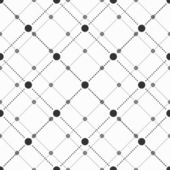 Abstract geometric pattern of the points Gray and white texture Seamless vector background