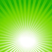 green background sun rays