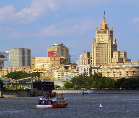 View of Moscow.