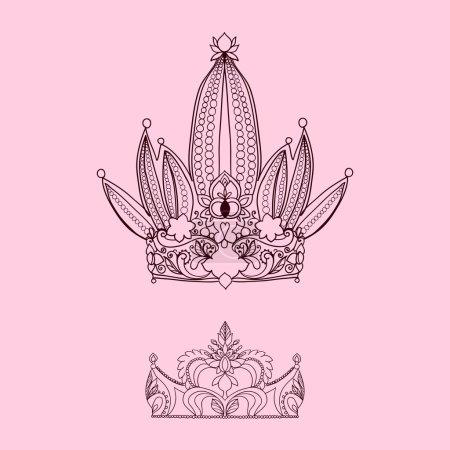 Princess crown and tiara