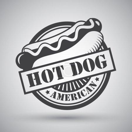 Hot dog emblem