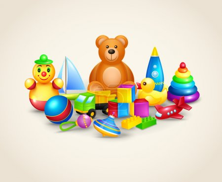 Kids toys composition