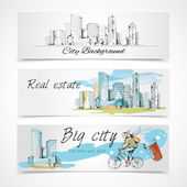 Big city banners