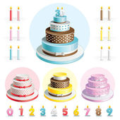 Set cakes for Anniversary