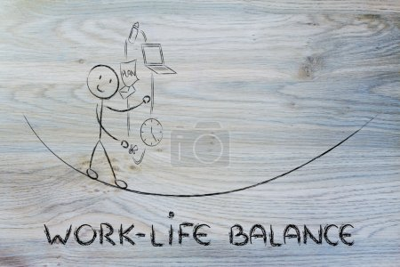 work life balance & managing responsibilities: working father ju