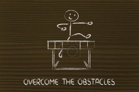 Hurdle design - overcome the obstacle