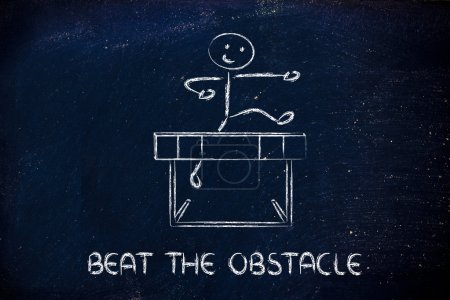 Hurdle design - beat the obstacle