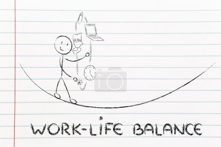 Work life balance & managing responsibilities