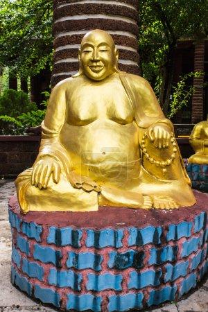 Photo pour Statuette de Hotei (Bouddha) en Thaïlande - image libre de droit